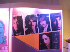 Beatles in 1968 Exhibit in Bullock Museum