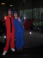 Dan and Terri at IFly Austin