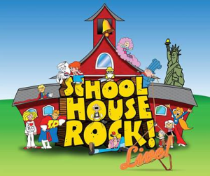 HLAAKC Schoolhouse Rock Live I Love KC logo