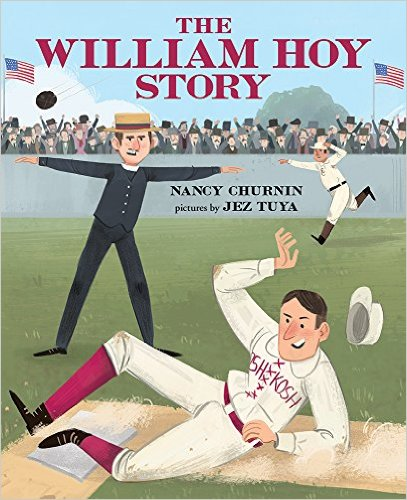 The William Hoy Story Book Cover